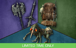 Creation Club The Sword, Backpack and Nix-Hound Bundle