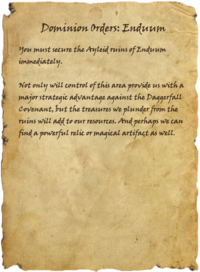 Dominion Orders Enduum
