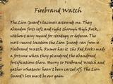 Firebrand Watch