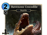Ravenous Crocodile