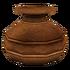 Глиняный горшок 2