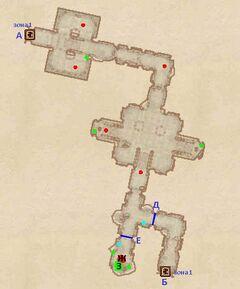 Форт Номор - Бункер. План