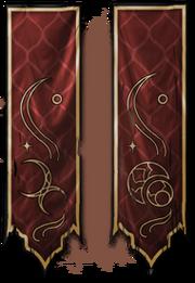 Khajiit Banner (Conceptart) by Jeremy Fenske