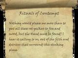 Rituals of Contempt