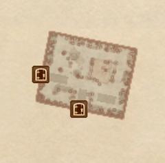 Замок Брумы - Казармы. План