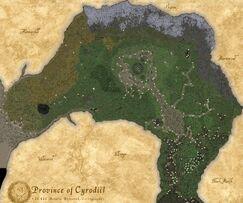 Корень Нирна большая карта