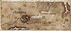 Форт Властарус (Карта)