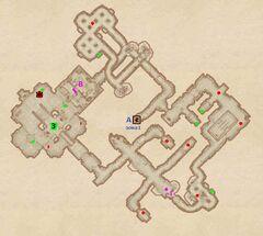 Форт Красная Вода - Залы славы. План