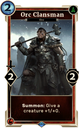 Card-Orc Clansman