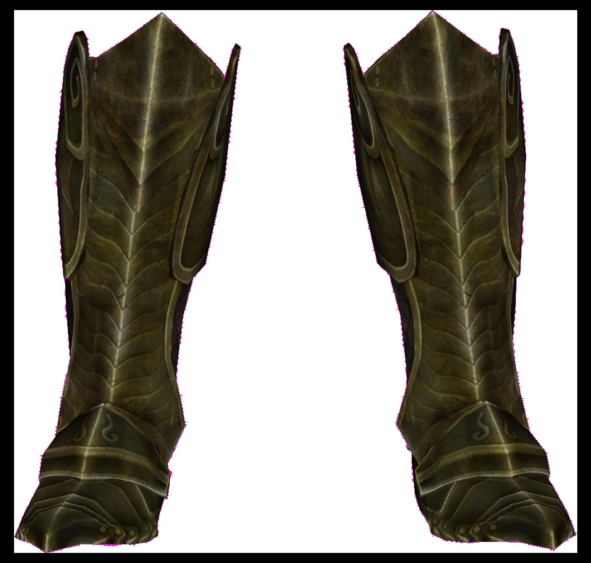 elven boots  skyrim