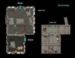 Дом воительницы (План)
