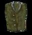 Зелёная шерстяная рубашка