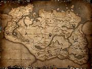 Карта Скайрима1