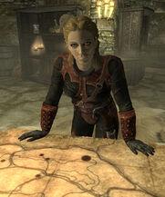 Astrid nel Santuario