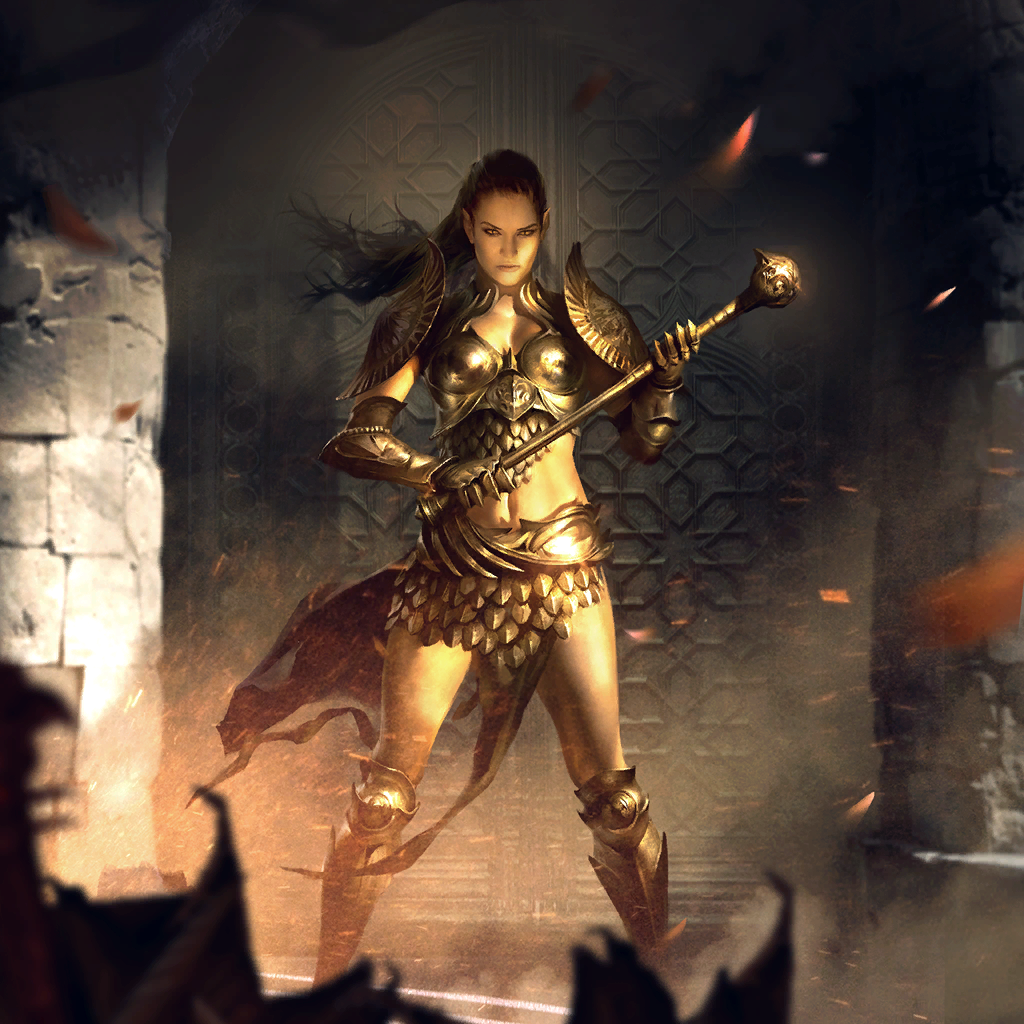 """Brellach Commander card art.png Information Description Card art.  Source The Elder Scrolls: Legends.  Licensing This image is from """"The Elder Scrolls"""" series of games and qualifies as fair use."""