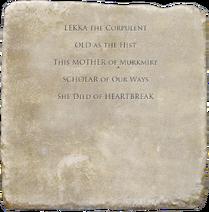 Lekka the Corpulent (Exhumed)