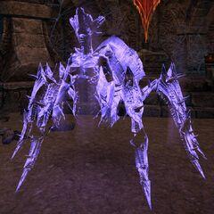 Mephala pod postacią eterycznego Pajęczego Daedrotha z gry The Elder Scrolls Online