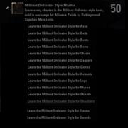 Militant Ordinator Style Master Achievement