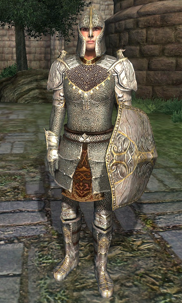 Mithril Armor Oblivion Elder Scrolls Fandom It was presumably first worn by tiber septim, and thus became a tradition for the emperors following him. the elder scrolls wiki fandom