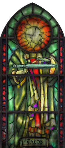Talos Stained Glass