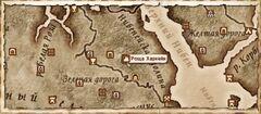 Роща Харкейн. Карта