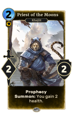 Priest of the Moons (Legends)