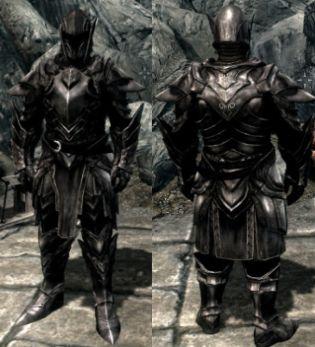 Skyrim ebony armor