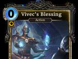 Vivec's Blessing