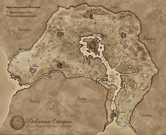 Врата Обливиона - карта