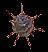 Гигантская спора ежовика лазурного (иконка)