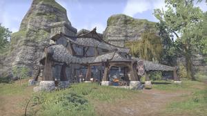 Здание в крепости Каменного зуба 8