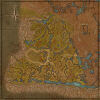 Ядовитая топь (карта)