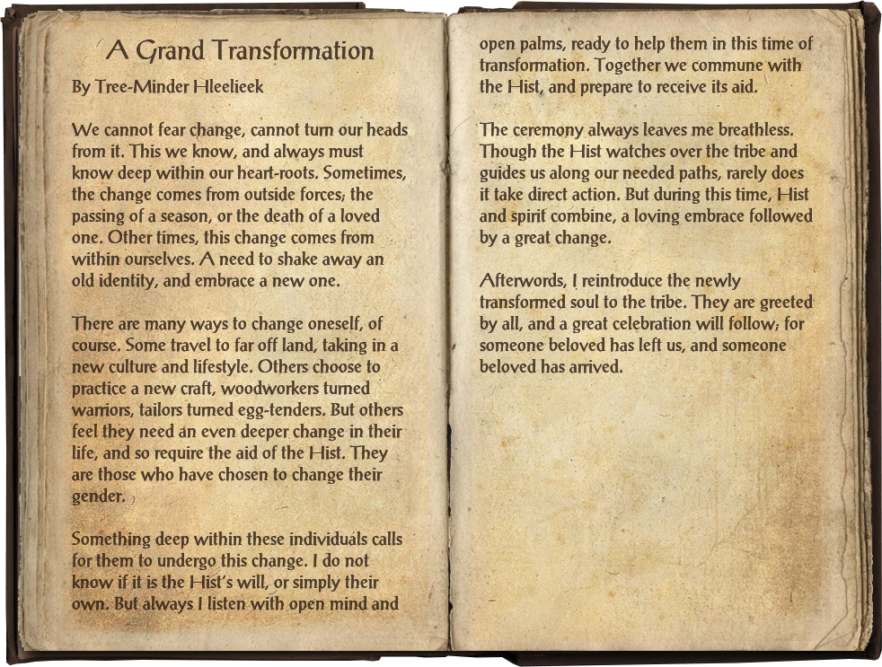 Transformed By Time And History >> A Grand Transformation Elder Scrolls Fandom Powered By Wikia