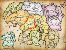 Contee e regni di Tamriel