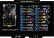 Empire Conquest Deck 1