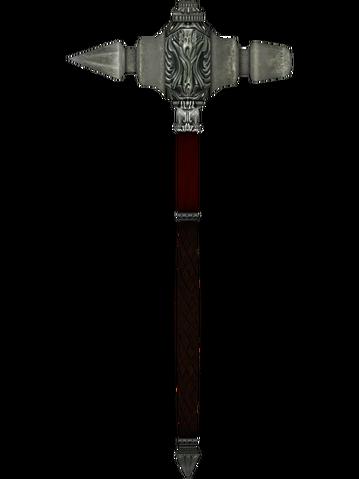 File:Oblivion FineSteelWarhammer.png