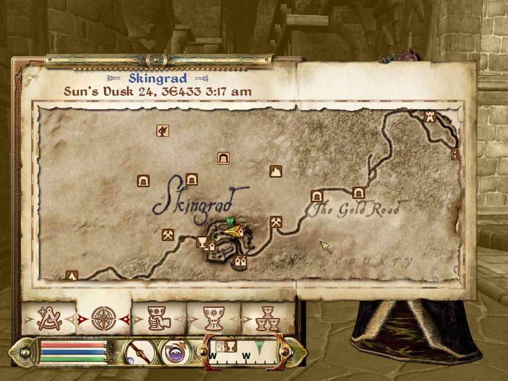 Fast travel oblivion elder scrolls fandom powered by wikia oblivion map gumiabroncs Choice Image