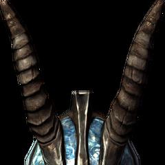 Ze Stalhrimu można też wyrobić lekką zbroję np. Lekki Hełm