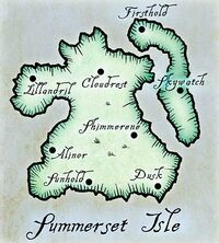 Астравы Саммерсет (карта)