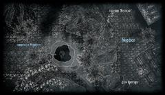 Кладбище Морфала - план