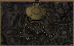Район поместий. Карта