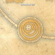 Clockwork City ESO World Map