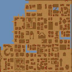 Mapa Gwiazdy Zarannej z gry The Elder Scrolls: Arena