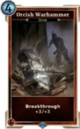 Orcish Warhammer (Legends) DWD