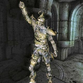Posąg strażnika Ayleidów
