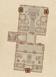 Замок Чейдинхол - Большой зал. План