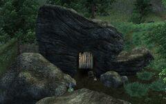 Обрушившаяся шахта