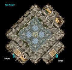 План храма Кинарет