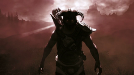 Dovahkiin from Trailer of Dawnguard