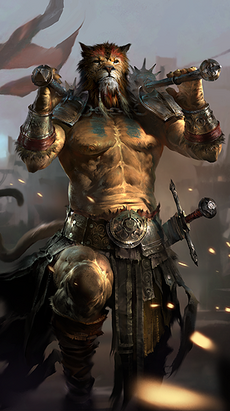Khajiit avatar 4 (Legends)